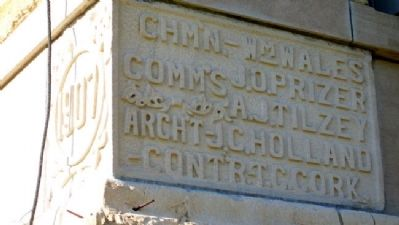 Osborne County Courthouse Cornerstone image. Click for full size.