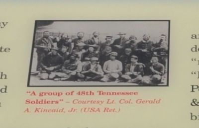 """A group of 48th Tennessee Soldiers"" image. Click for full size."