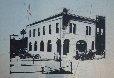 The First National Bank No. 1 Marker image. Click for full size.