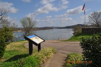 Forrest Crosses Tennessee River Marker image. Click for full size.