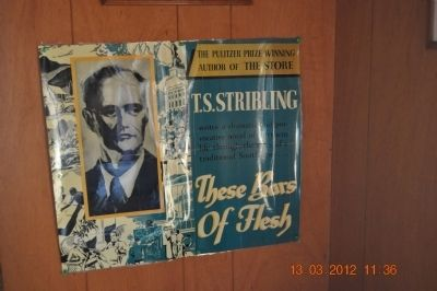 T.S. Stribling These Bars of Flesh Book Cover image. Click for full size.