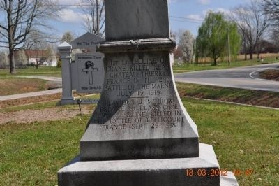 Lawrence County World War I Memorial image. Click for full size.
