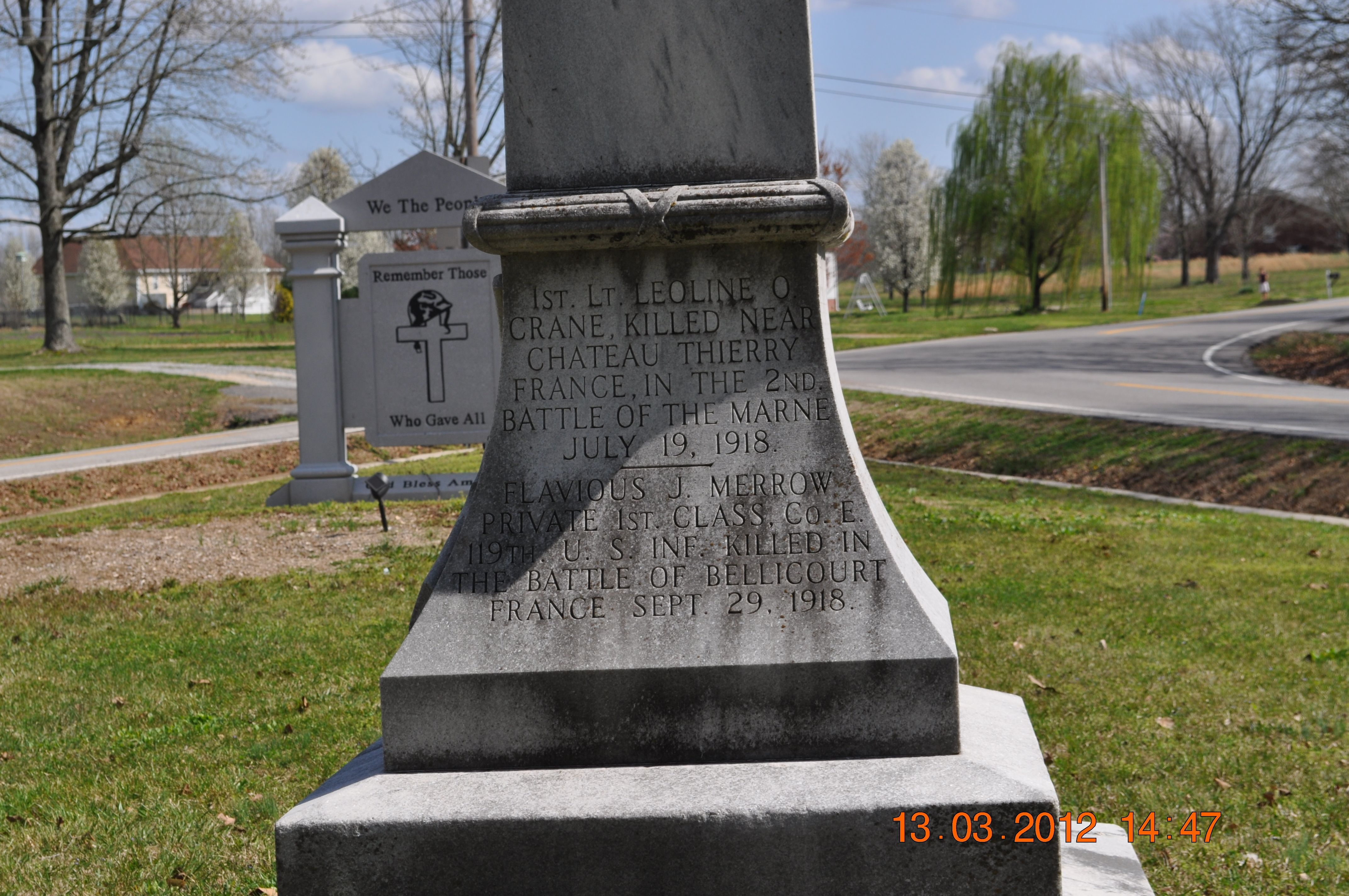 Lawrence County World War I Memorial