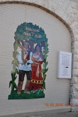 Trail of Tears Memorial image. Click for full size.