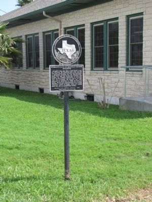 Woman's Club of Aransas County Building Marker image. Click for full size.