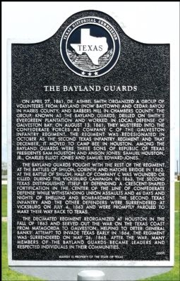 The Bayland Guards Marker image. Click for full size.