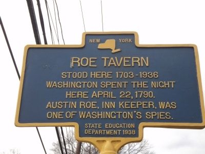 Roe Tavern Marker image. Click for full size.
