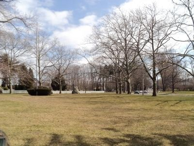 Setauket Village Green image. Click for full size.