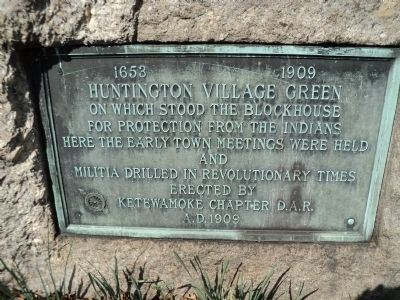 Huntington Village Green Marker image. Click for full size.