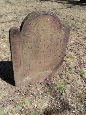 Grave in St. George's Manor Cemetery image. Click for full size.