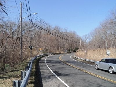 Marker on Route 25A image. Click for full size.