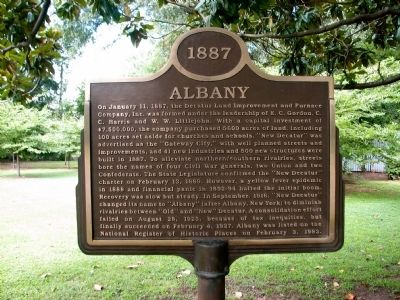 Albany Marker image. Click for full size.