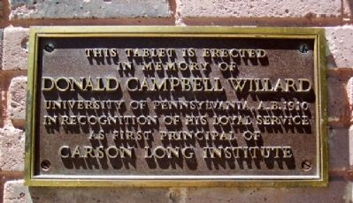 Donald Campbell Willard Marker image. Click for full size.