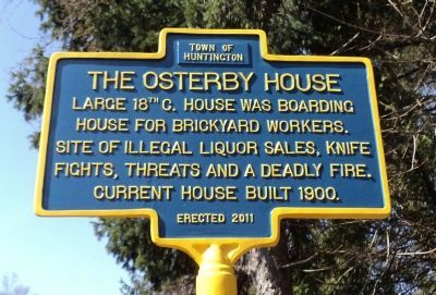 The Osterby House Marker image. Click for full size.
