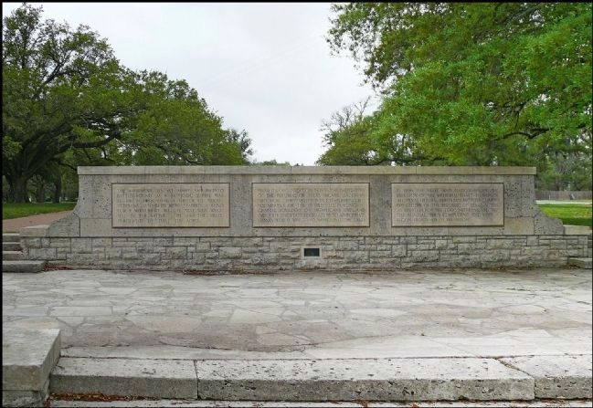 San Jacinto Battleground Park Marker image. Click for full size.