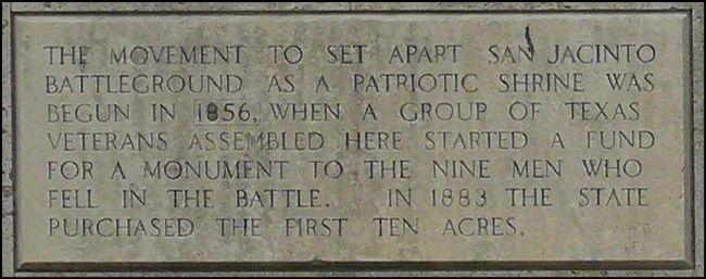 San Jacinto Battleground Park Marker Part 1 image. Click for full size.