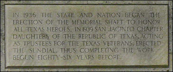 San Jacinto Battleground Park Marker Part 3