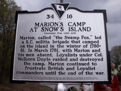 Reverse Side of Marker image. Click for full size.