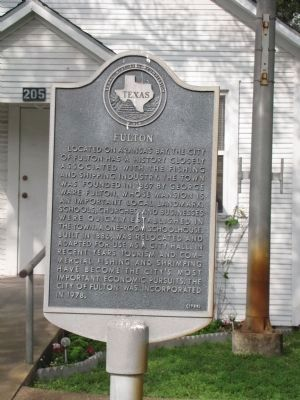 Fulton Marker image. Click for full size.