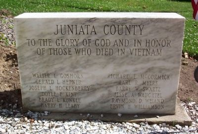 Juniata County War Memorial image. Click for full size.