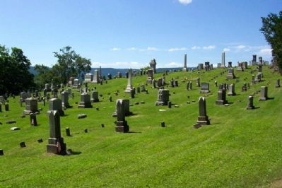 Westminster Presbyterian Cemetery View image. Click for full size.
