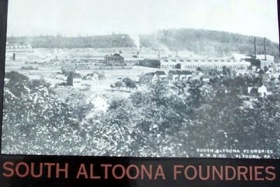 South Altoona Foundries Photo on Marker image. Click for full size.