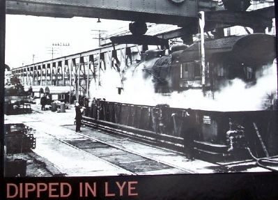 Dipped in Lye Photo on Marker image. Click for full size.