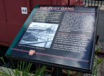 The Posy Gang Marker image. Click for full size.