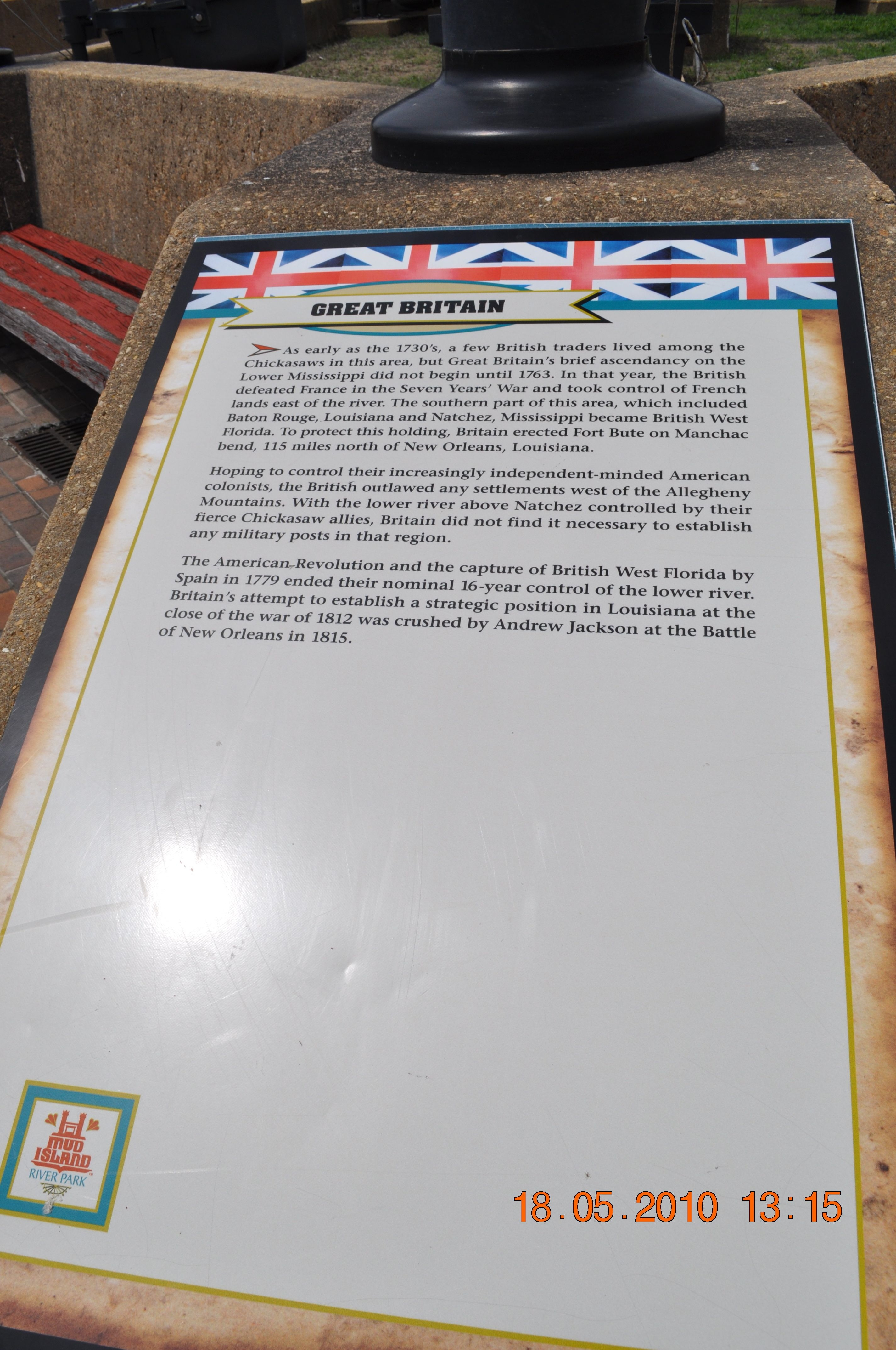 Great Britain Marker