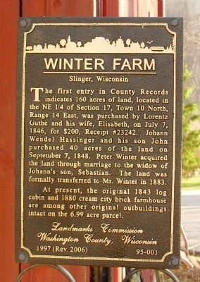 Winter Farm Marker image. Click for full size.
