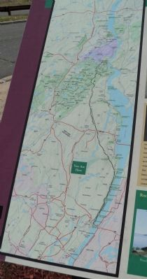 Map of the Palisades Interstate Parkway from the Marker image. Click for full size.