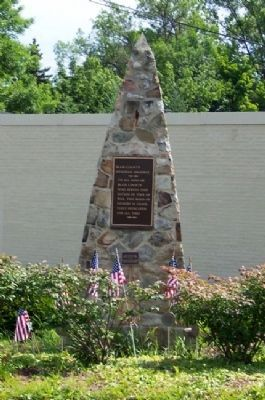 Blair County Memorial Highway Monument image. Click for full size.