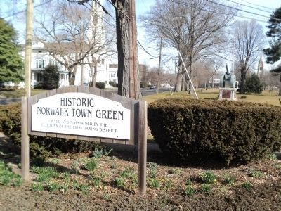 Historic Norwalk Town Green image. Click for full size.