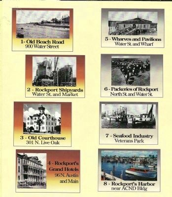 First Eight Signs for Rockport's Pathways to History image. Click for full size.