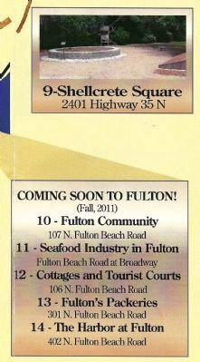 #9 and Future Signage for Rockport's Pathways to History image. Click for full size.