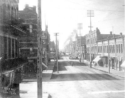 """Looking South on Government Street...."" image. Click for full size."