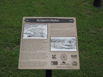 Rockport's Harbor Marker image. Click for full size.