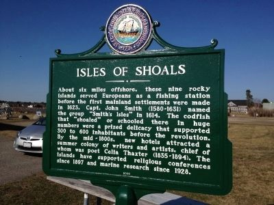 Isles Of Shoals Marker image. Click for full size.