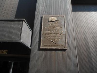 Birthplace of Lou Gehrig Marker image. Click for full size.