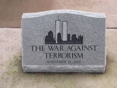 The War Against Terrorism image. Click for full size.