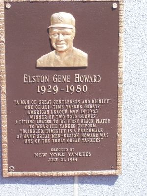 Elston Gene Howard Marker image. Click for full size.