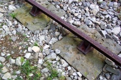 Railroad Track and Stone image. Click for full size.