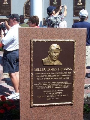 Miller James Huggins Marker image. Click for full size.