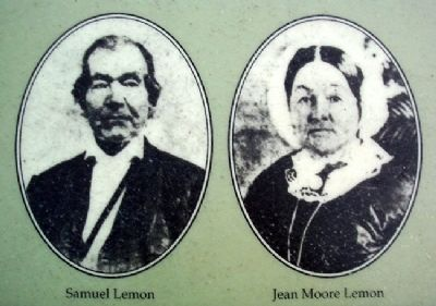 Lemon Portraits on The Lemon House Marker image. Click for full size.