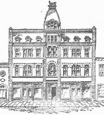 Masonic Temple & Opera House image. Click for full size.