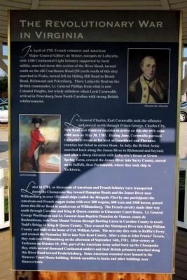 The Revolutionary War in Virginia (side 2) image. Click for full size.
