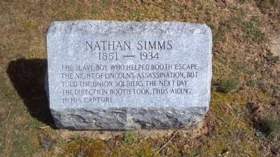 Nathan Simms Marker image. Click for full size.