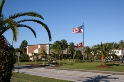 Florida Tech Campus and Marker image. Click for full size.