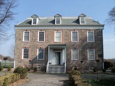 Van Cortlandt House (South View) image. Click for full size.