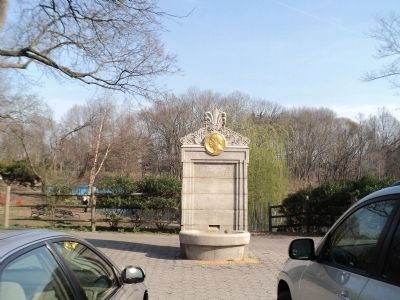 Marker in Van Cortlandt Park image. Click for full size.